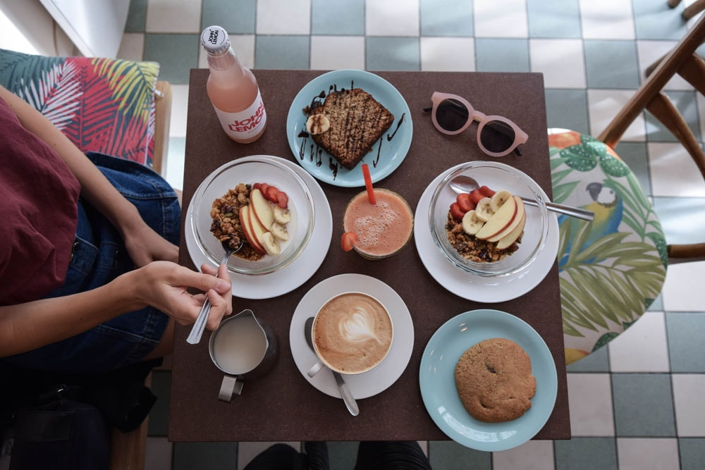 kopi cream gluten free breakfast