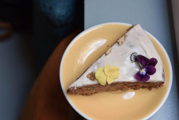 yema paris vegan gluten free carrot cake