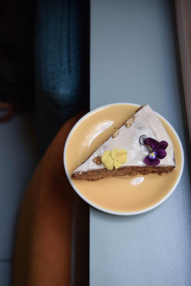 Vegan Carrot Cake Paris