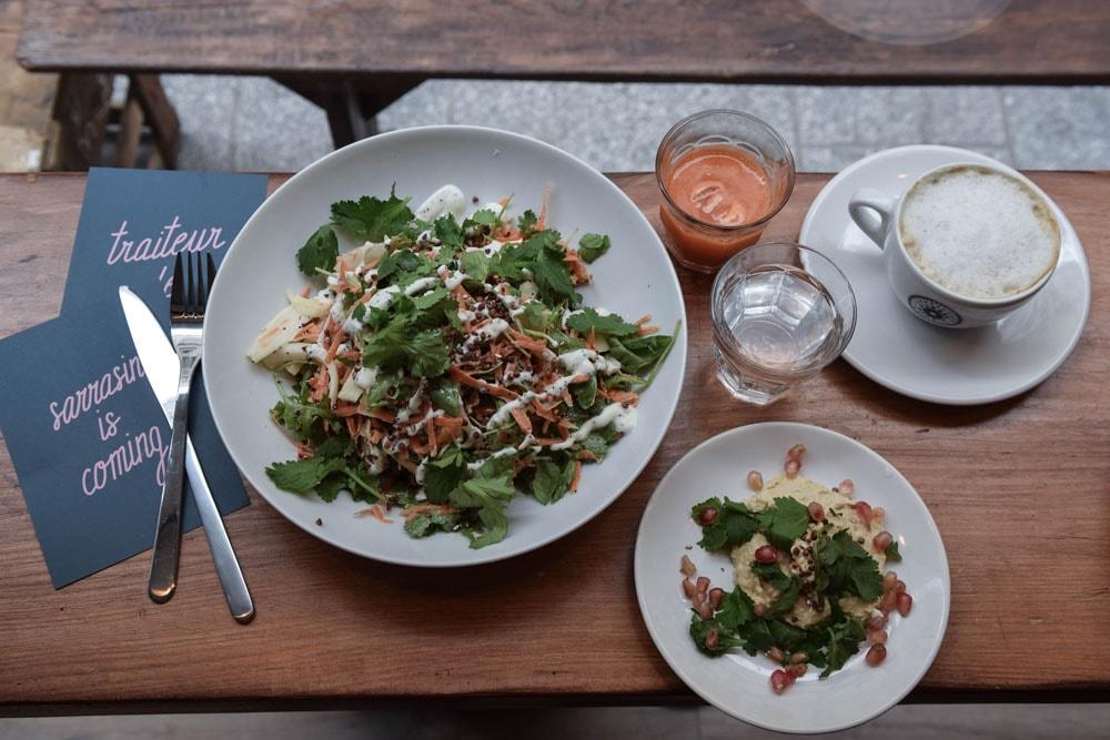 sarra paris carrot salad in paris