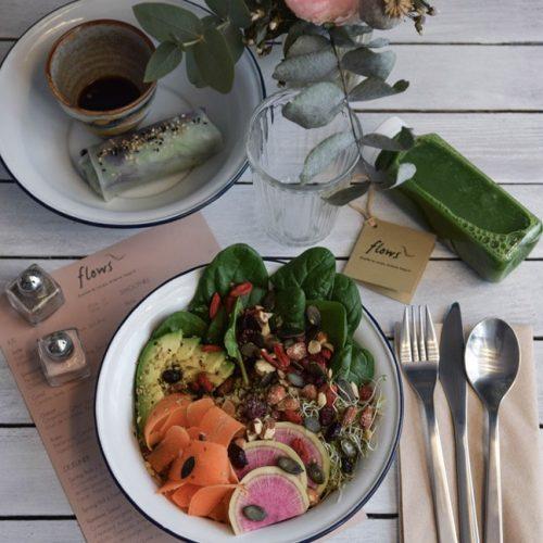flows gluten free vegan lunch