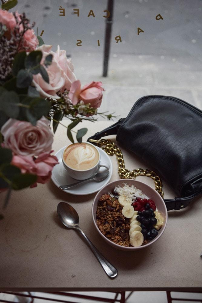 cafe berry paris granola