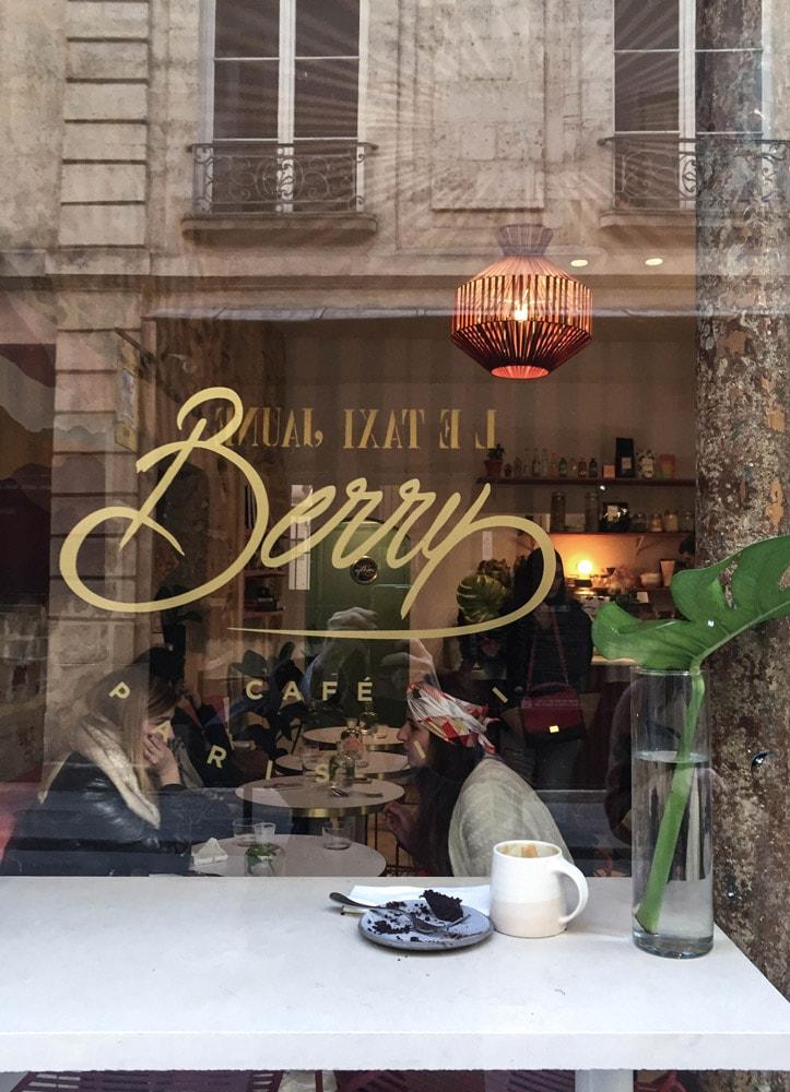 cafe berry paris