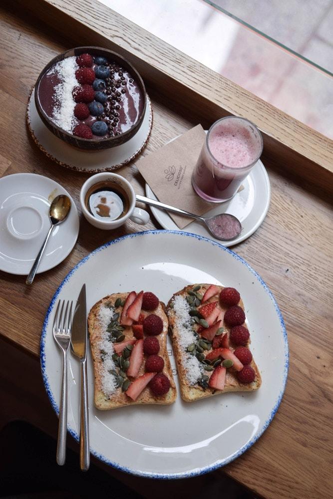 celicioso gluten free breakfast