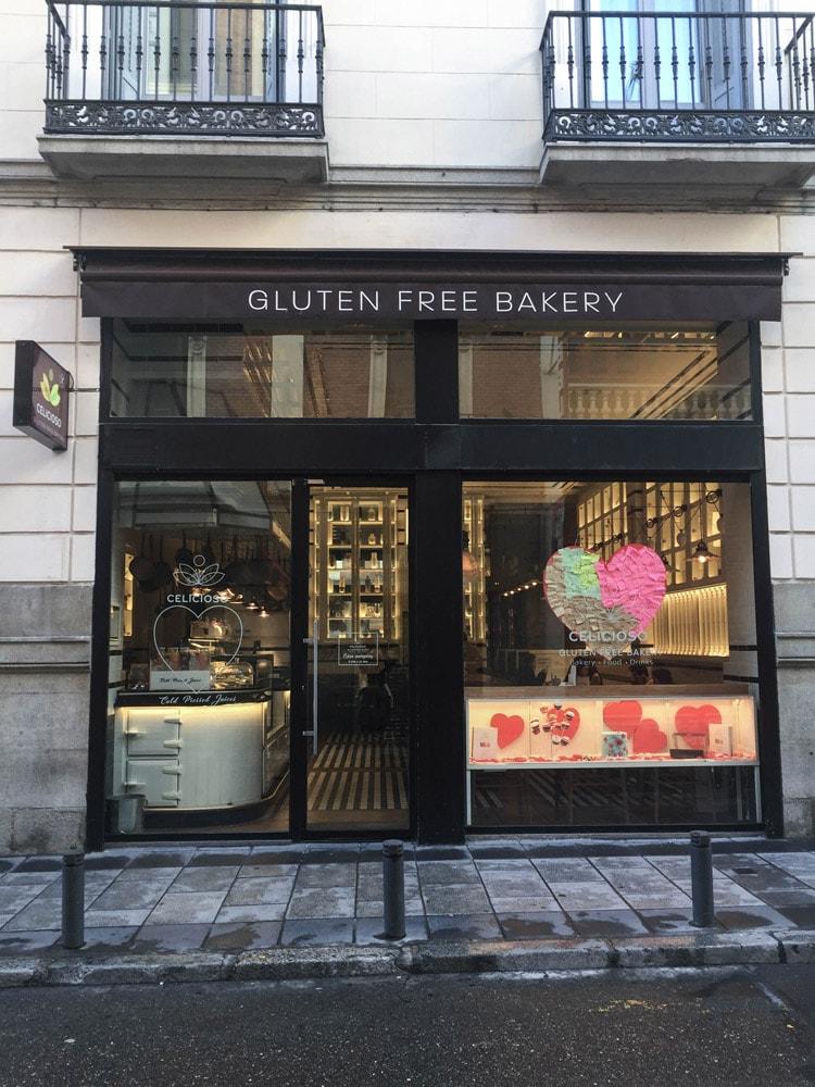 celicioso gluten free restaurant in madrid