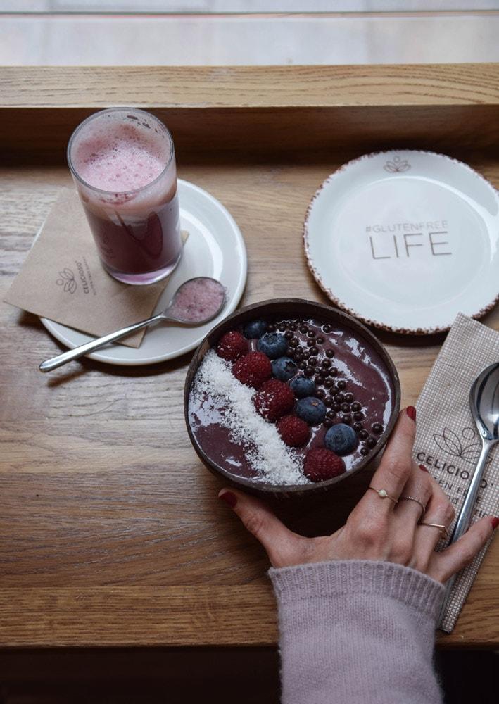 celicioso vegan gluten free acai bowl