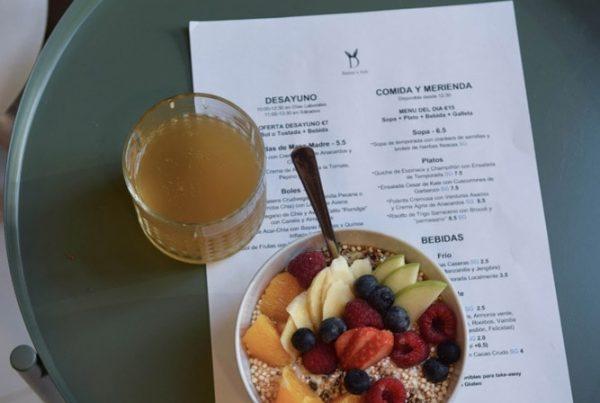 bunny's deli fruit bowl vegan gluten free