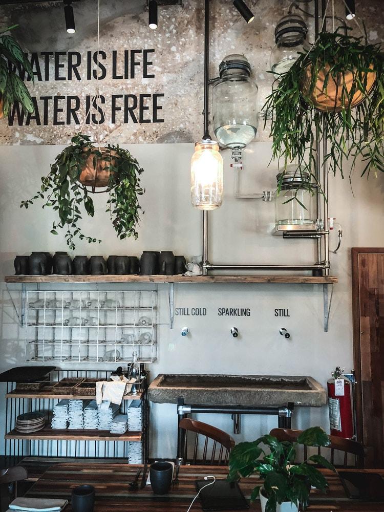 soulgreen italia water is free