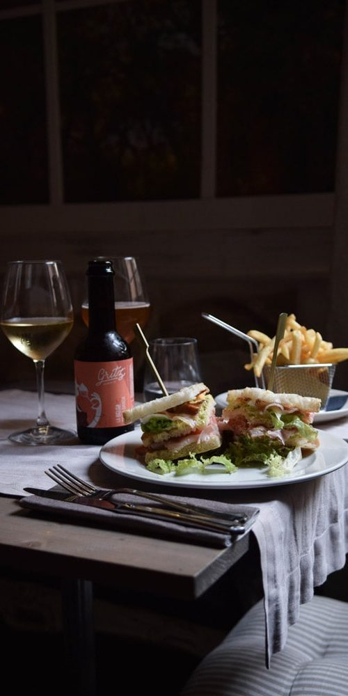 via dalla spiga club sandwich gluten free