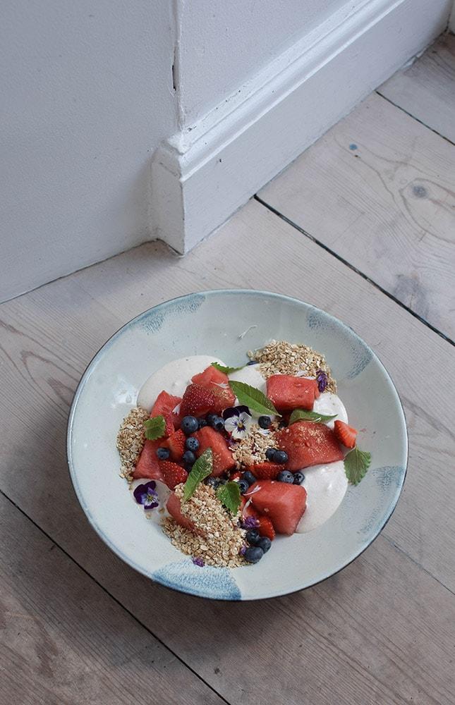plant power food granola vegan