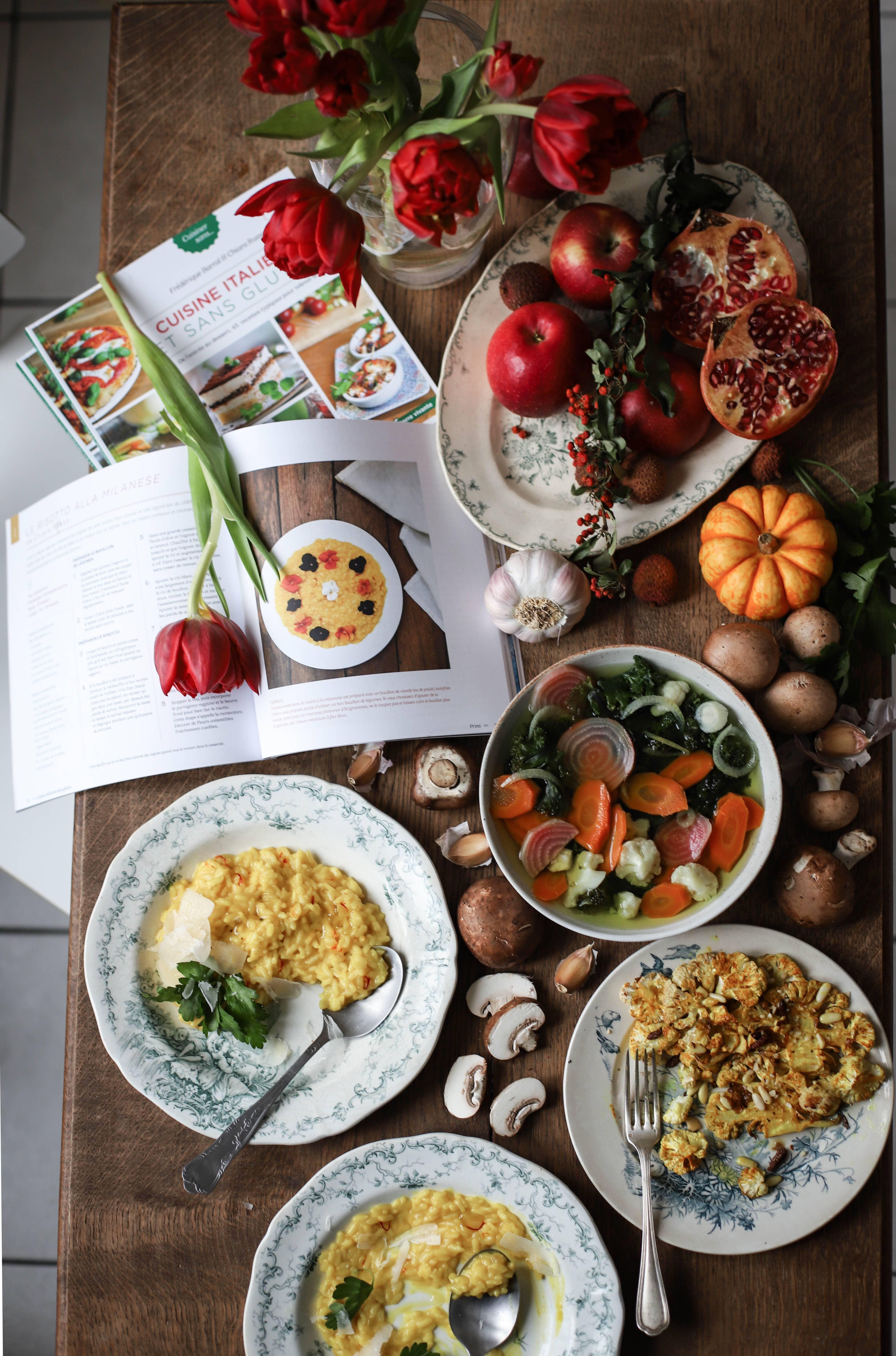 cuisine italienne terre vivante risotto gluten free