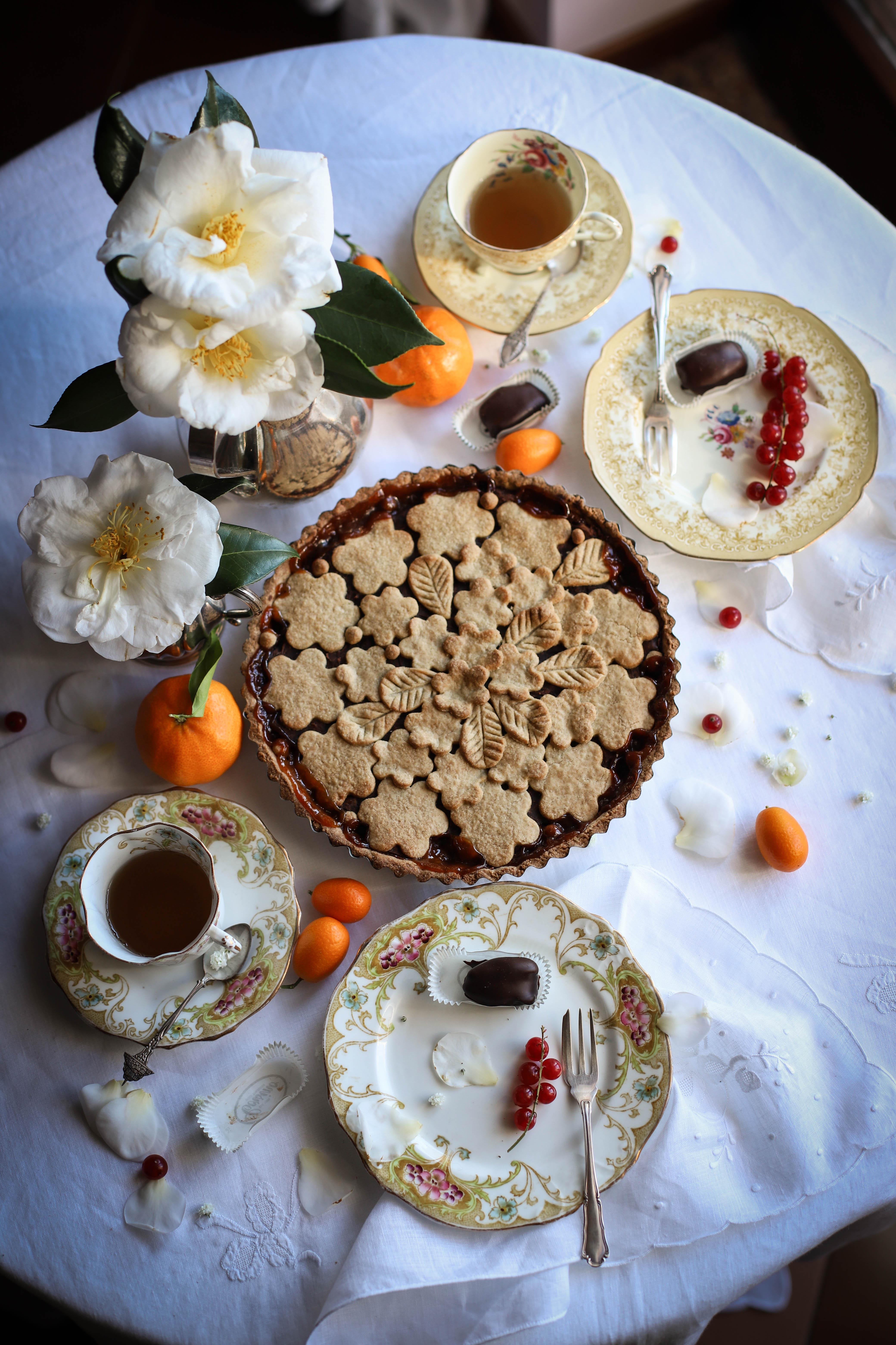 gluten free buckwheat orange chestnut cake