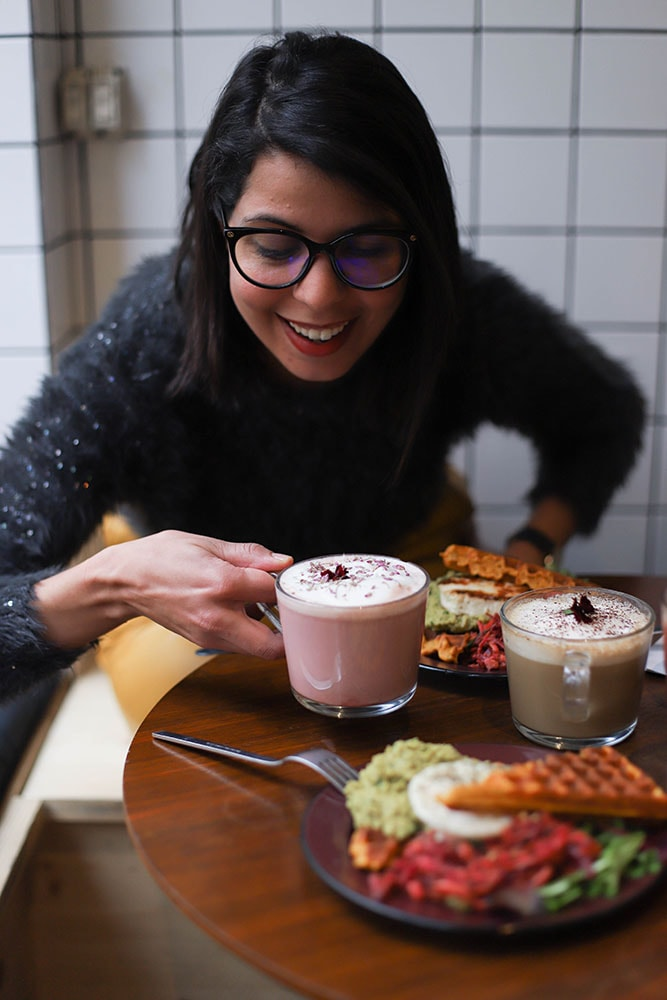 opoa latte and gluten free brunch