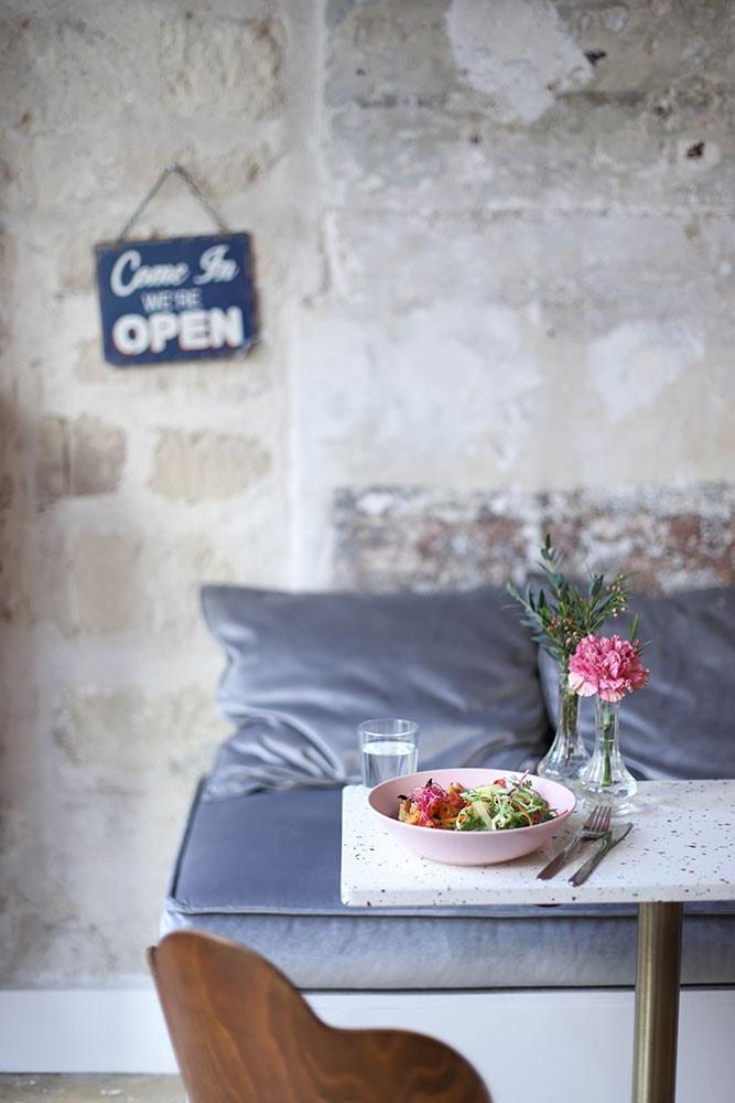 noglu gluten free lunch in paris