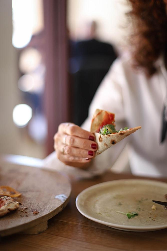 the green spot gluten free vegan pizza