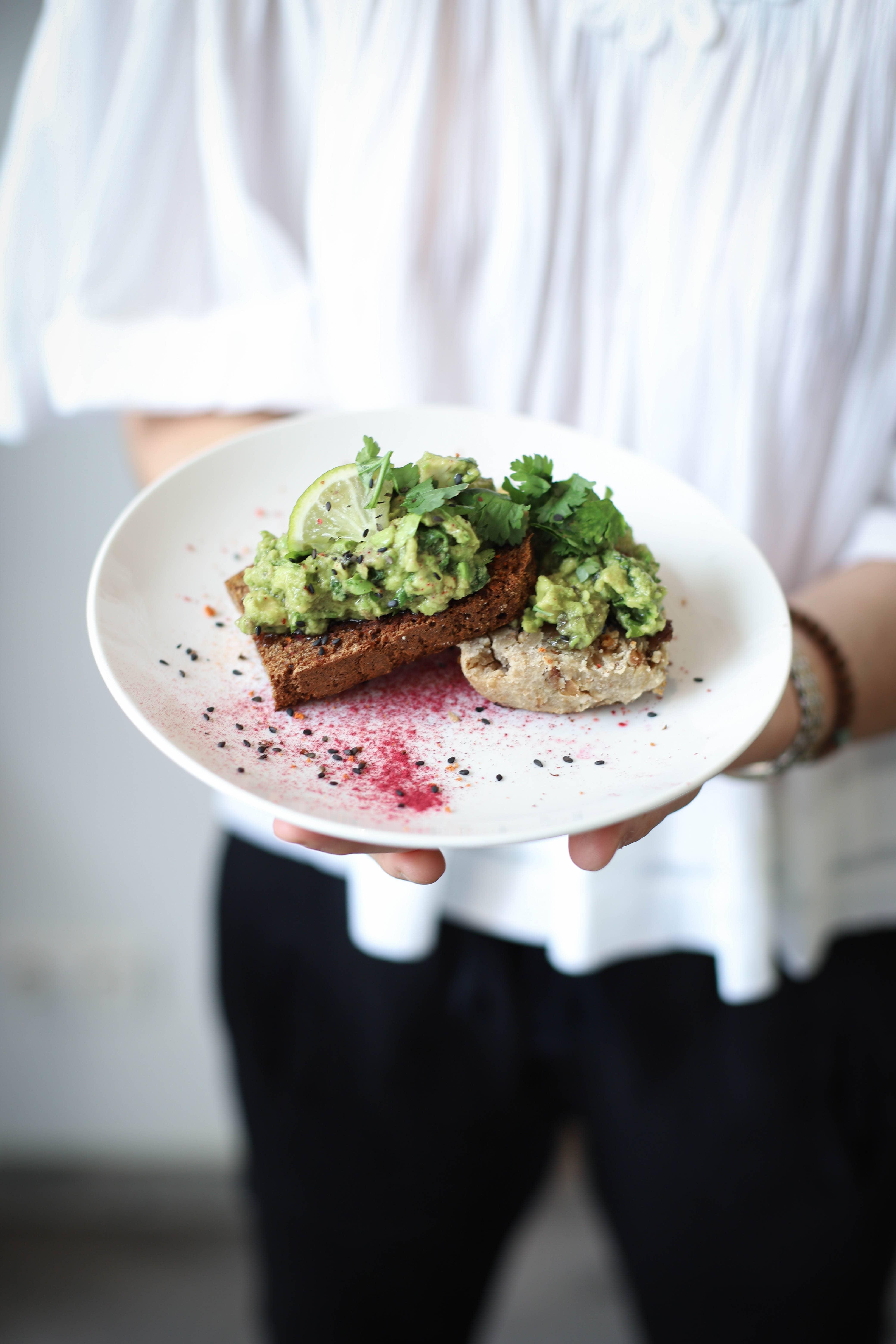 lespetitespatisseriesrawvegan raw avocado toast