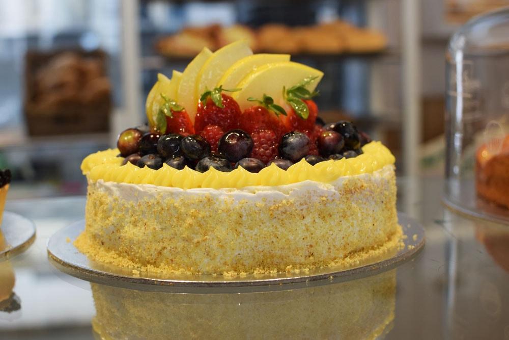 gâteau aux fraises sans gluten milan