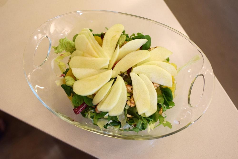 une belle et bonne salade sans gluten à milan