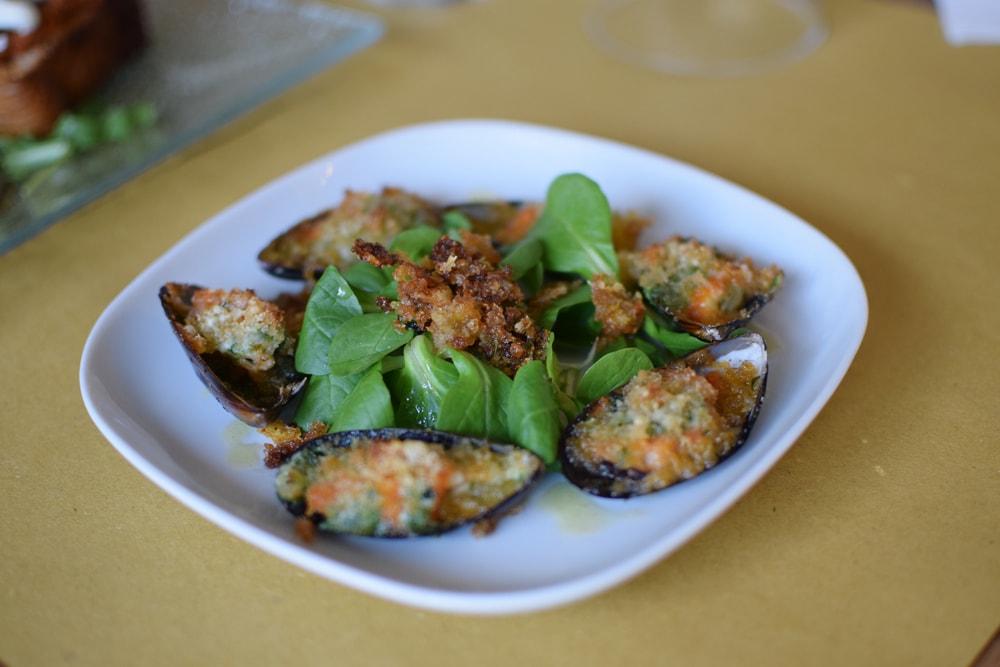 délicieuses moules sans gluten chez Puglia Bakery à Milan