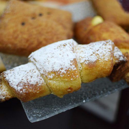 Un délicieux croissant sans gluten chez Da Domenica Café Patisserie à Turin