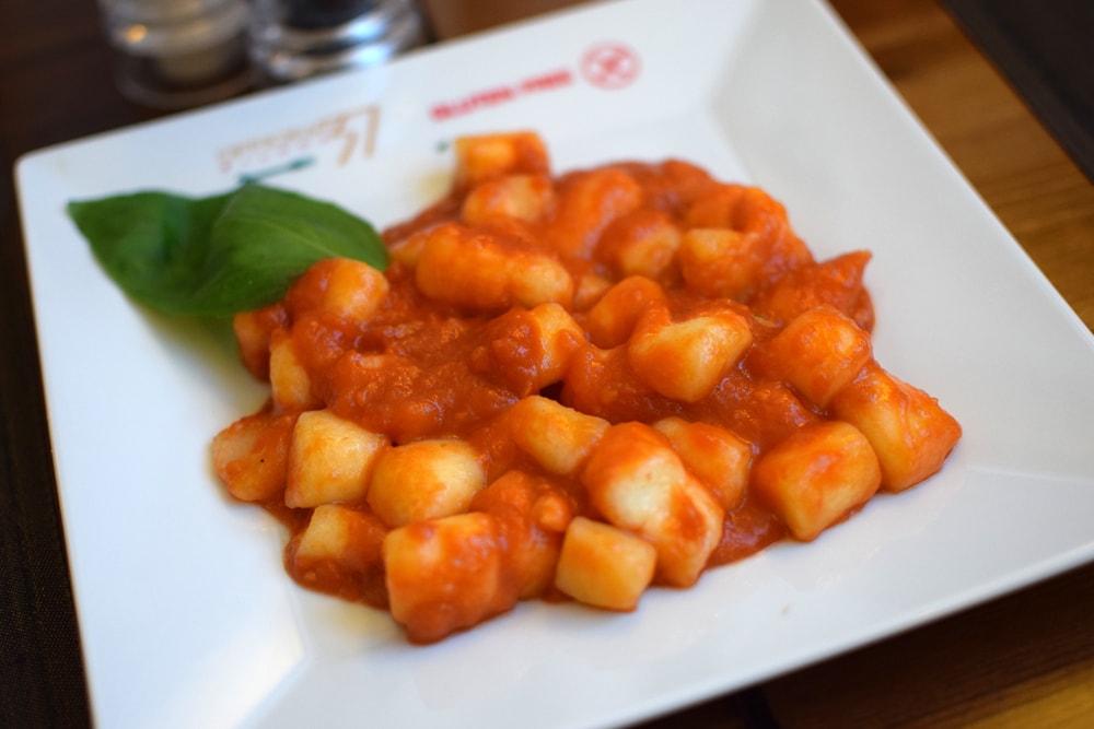 gnocchi sans gluten faits maison chez Officina 37 Milan