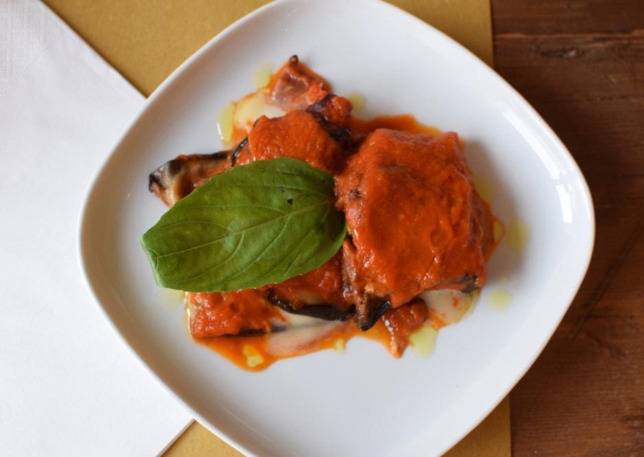 aubergines farcies sans gluten chez puglia bakery