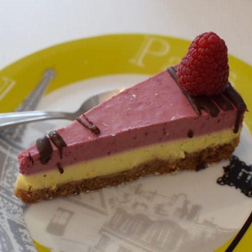 un délicieux cheesecake sans gluten