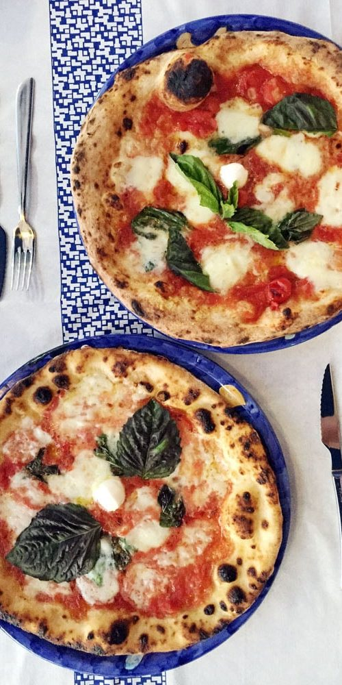 délicieuse pizza sans gluten à sorrento