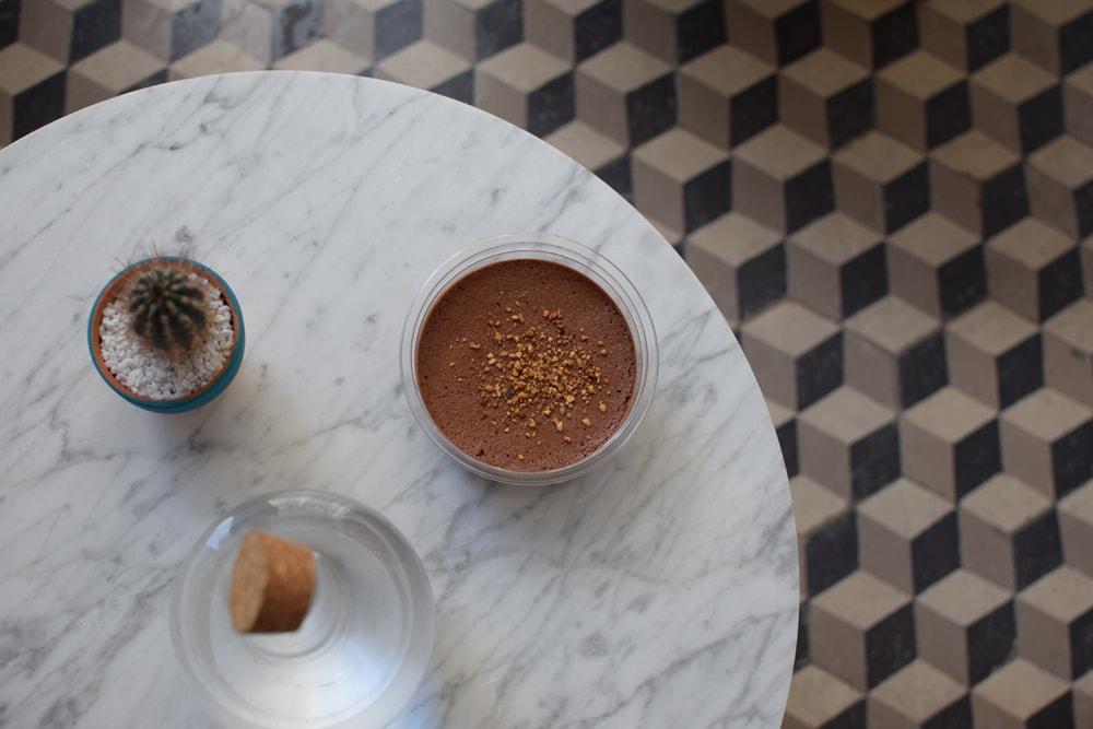 trop bonne cette mousse au chocolat sans gluten