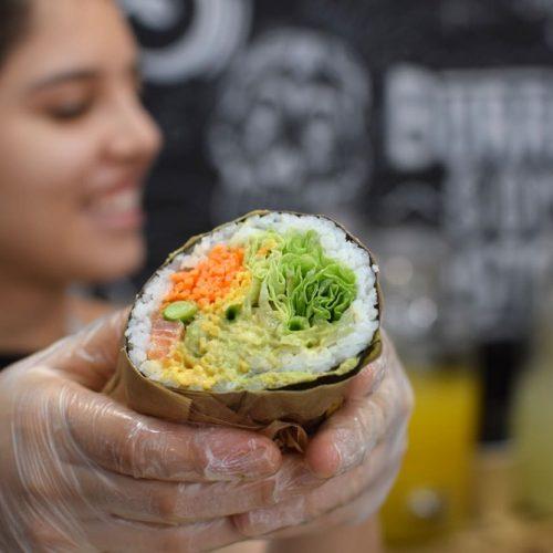 trop bon le sushi burrito sans gluten chez fuumi à paris