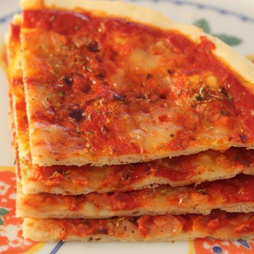 une super recette de pizza sans gluten