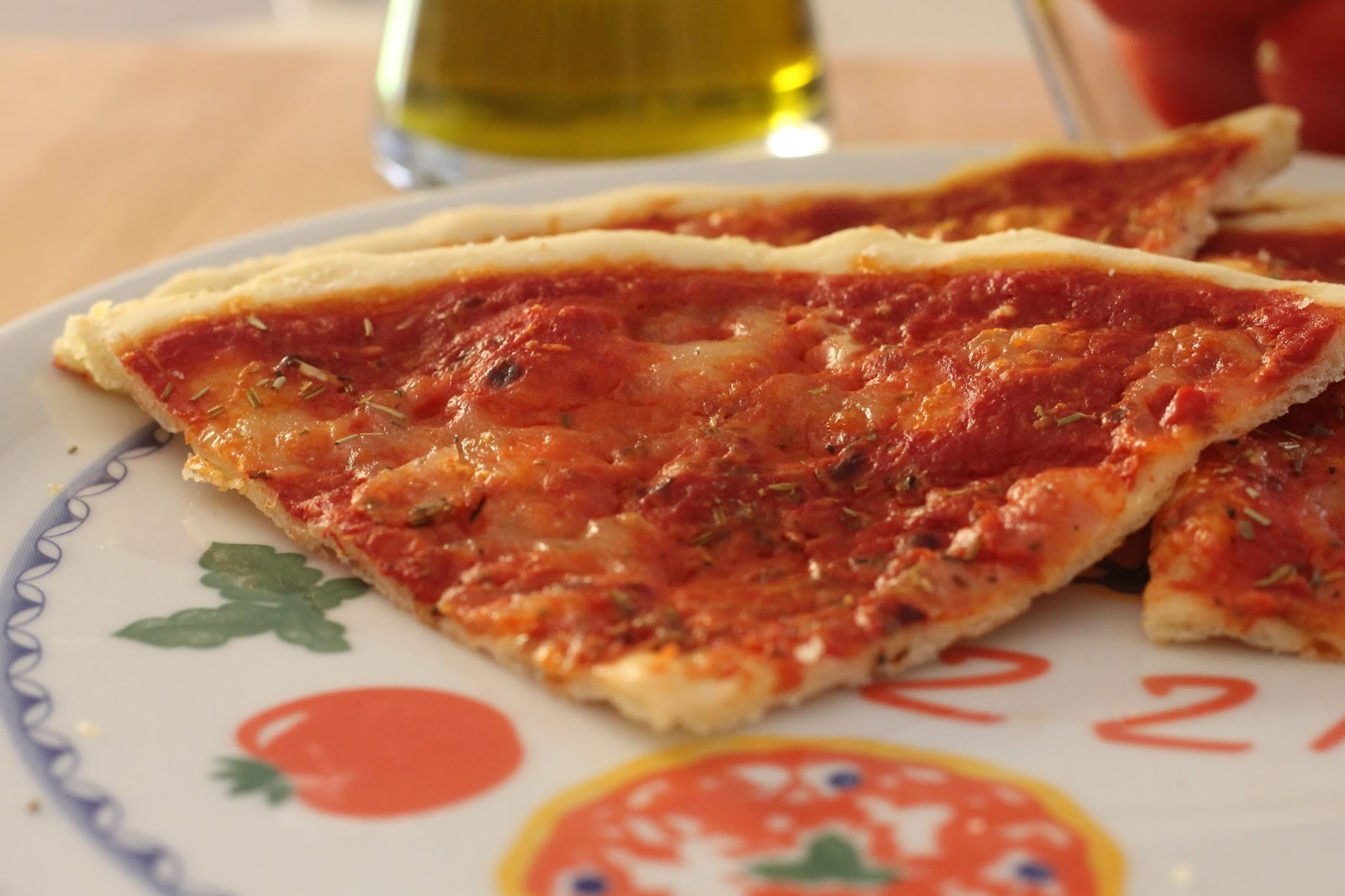 et voilà, une belle recette de pizza sans gluten