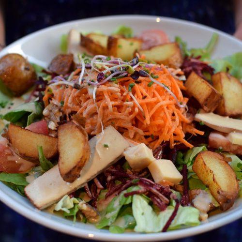 salade sans gluten chez le potager du marais