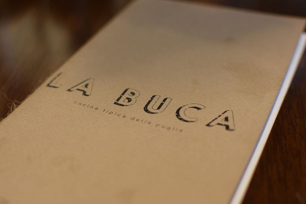 la Buca restaurant avec menu sans gluten à Paris