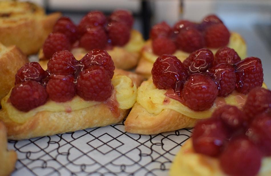 Beyond bread gluten free raspberry tart