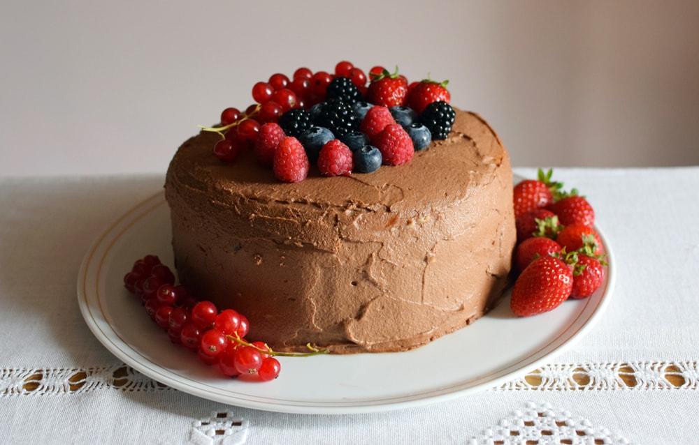 voici la recette de mon gâteau d'anniversaire sans gluten