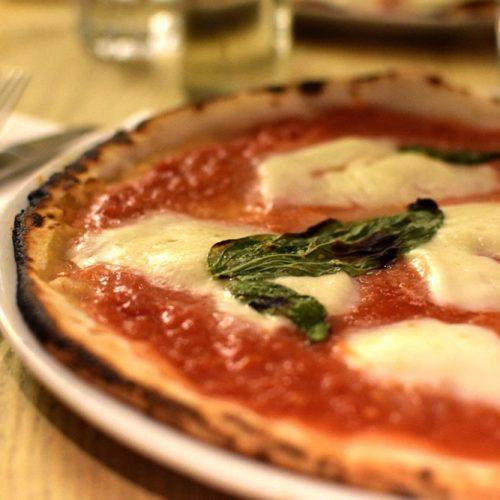 rossopomodoro pizza sans gluten avec de la farine Caputo