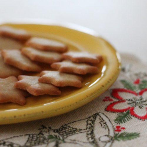 recette biscuits de Noël sans gluten