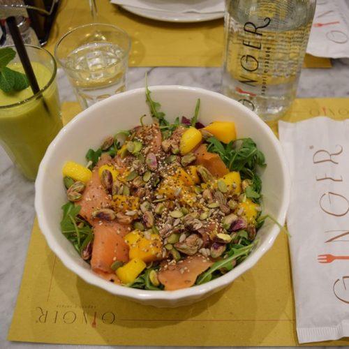 ginger cafe gluten free salad