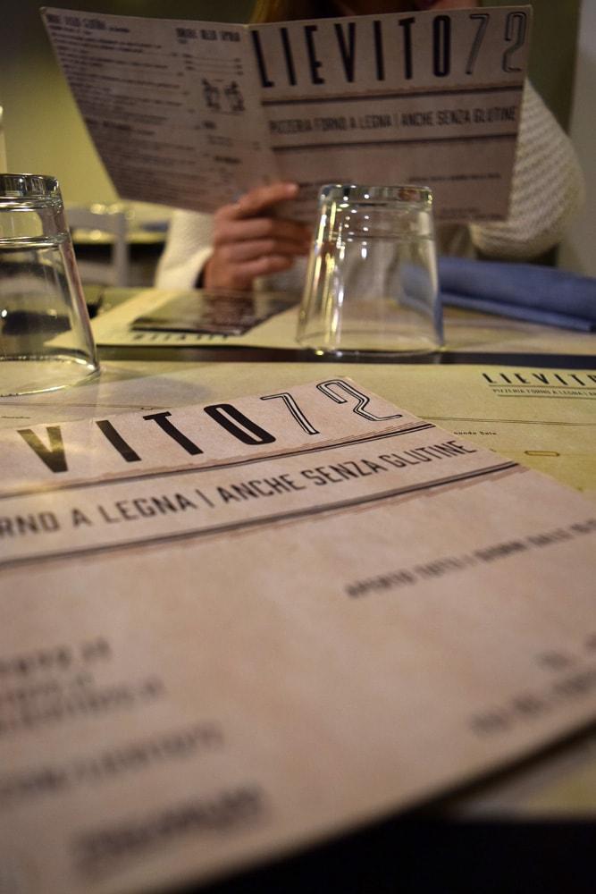 lievito 72 menu sans gluten
