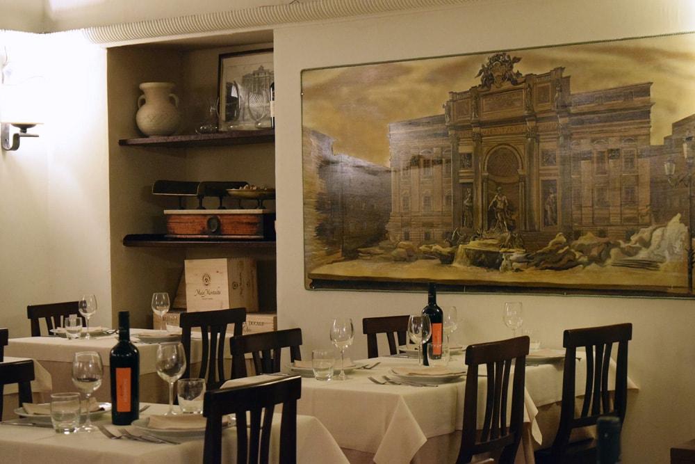 taverna barberini manger sans gluten à rome