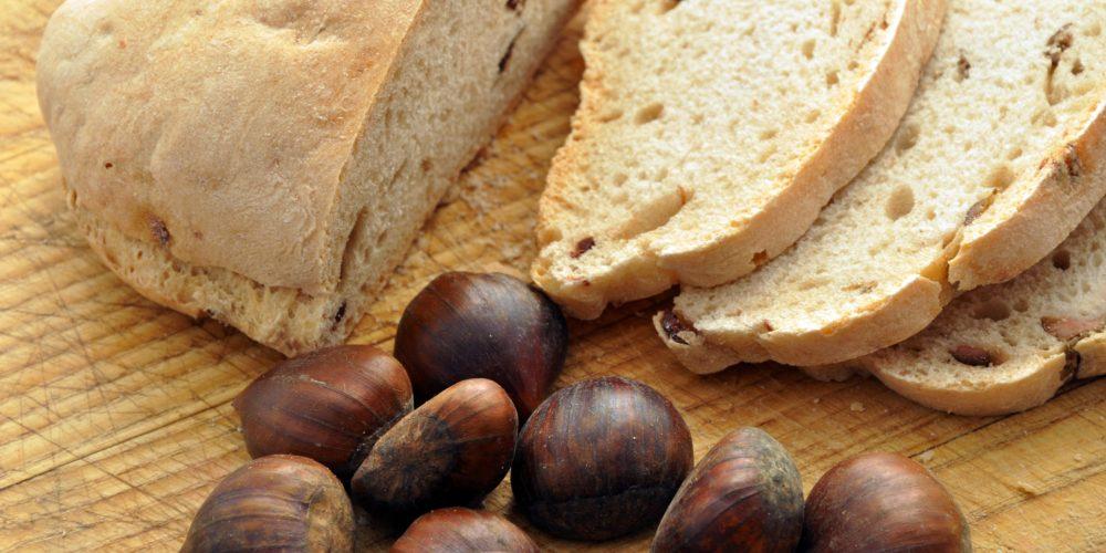 pain sans gluten à la farine de châtaigne