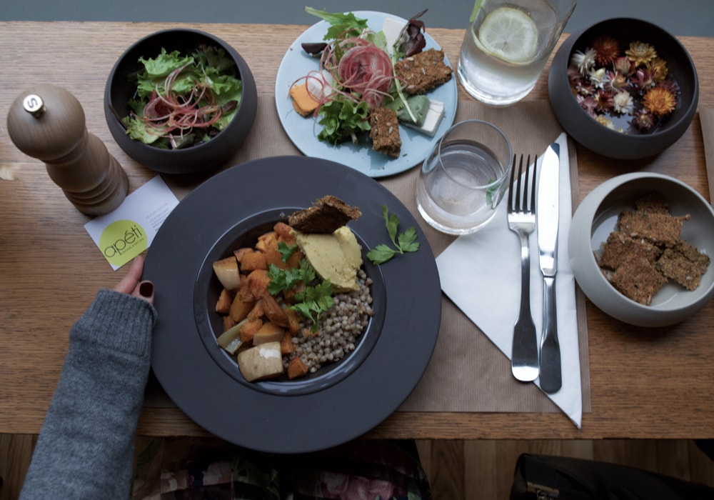ap ti restaurant sans gluten et vegan. Black Bedroom Furniture Sets. Home Design Ideas