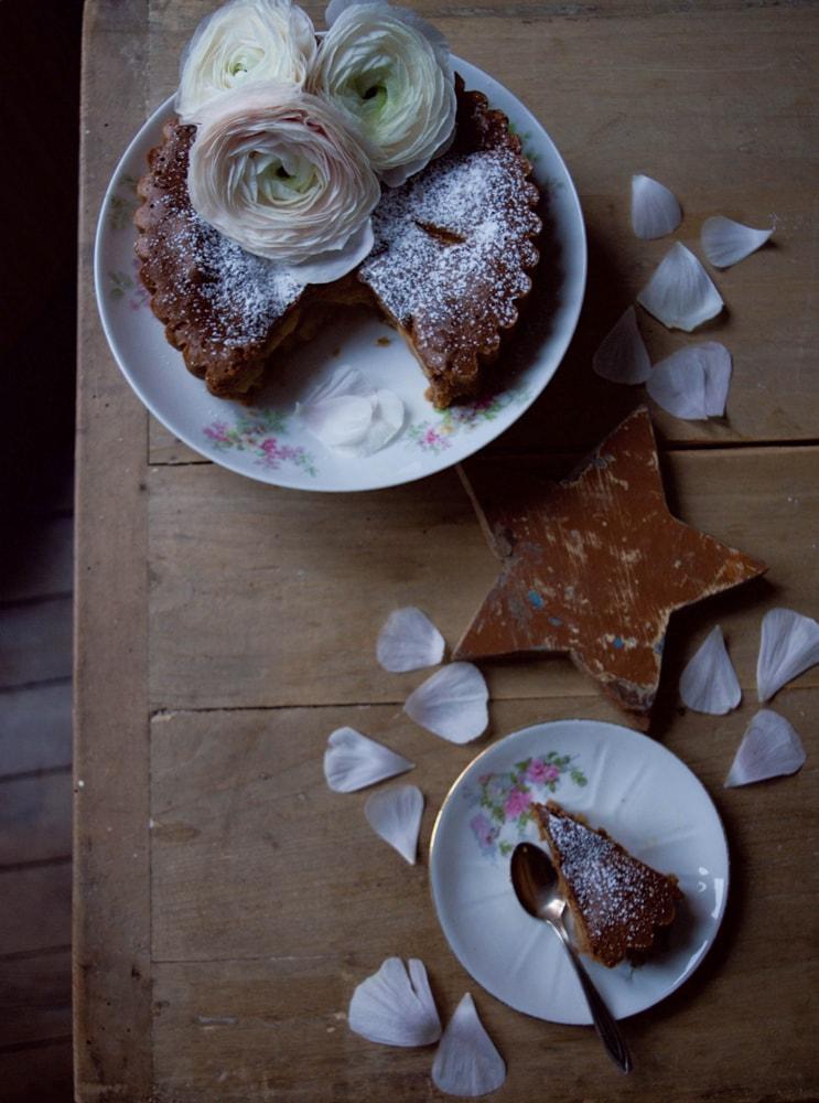 recette tarte aux pommes sans gluten sans gras