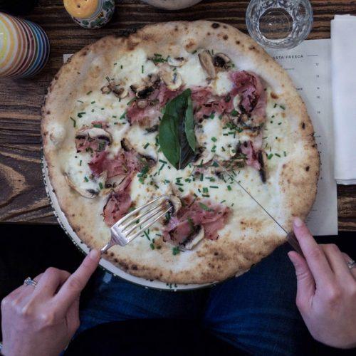 big love café pizza sans gluten