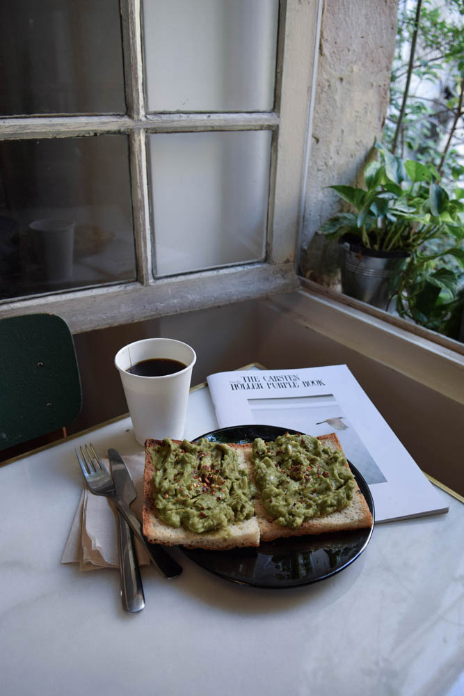 juicelab cafe avocado toast sans gluten