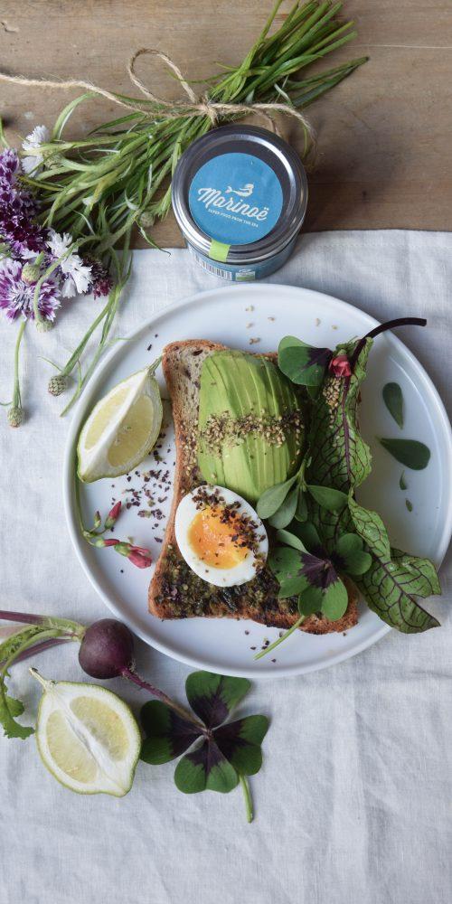 marinoe avocado toast sans gluten