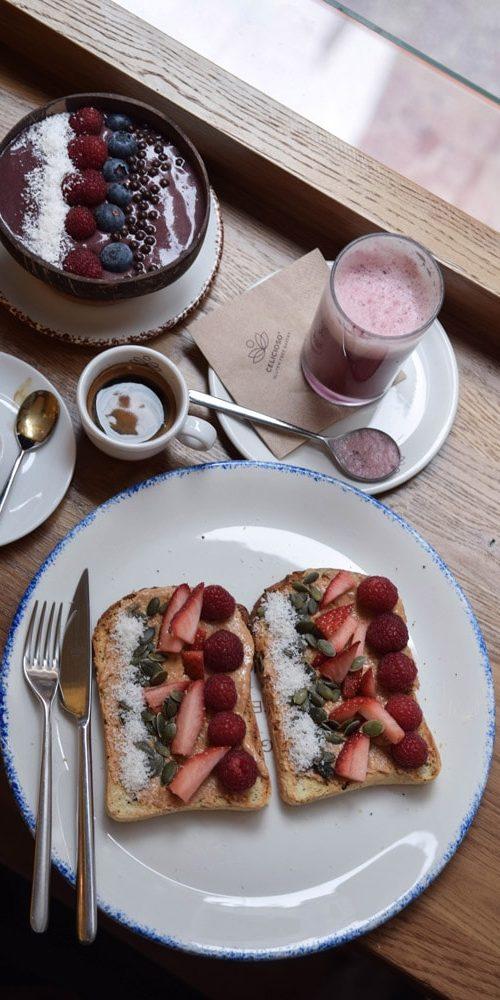 celicioso petit-dejeuner sans gluten à madrid