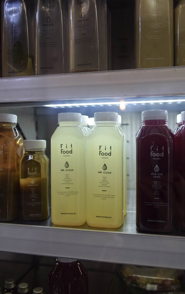 fit food madrid cold pressed juices