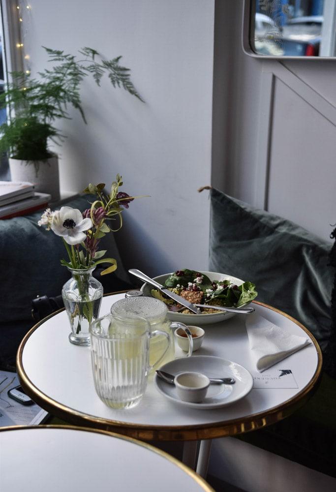 fougère cafe déjeuner sans gluten